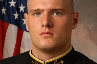 Garrett Snoeyenbos, former Naval Academy athlete